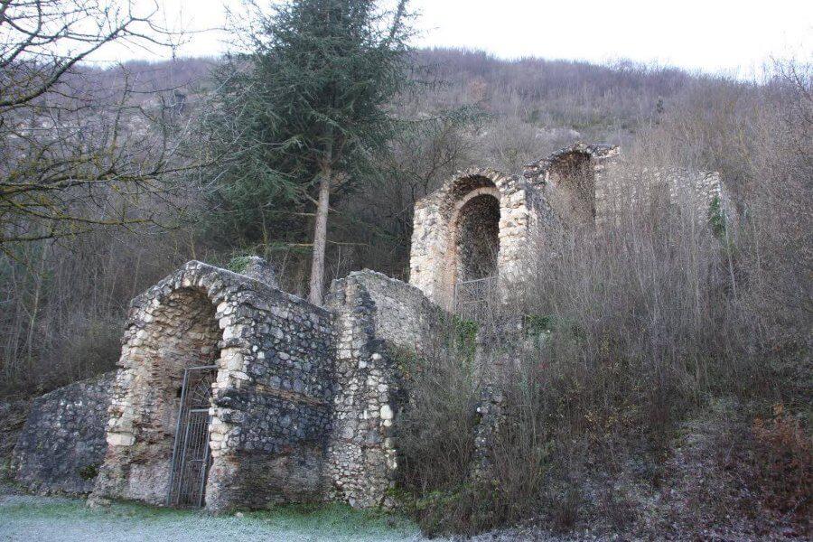 Abruzzo in camper la Piana del Fucino Cunicolo di Claudio