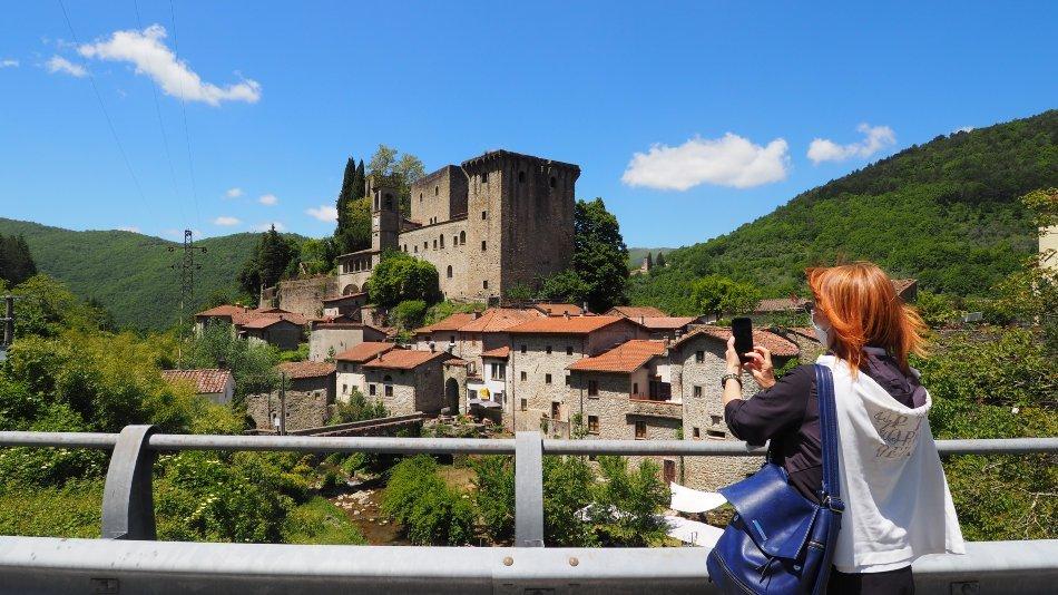 Angela e il Castello della Verrucola