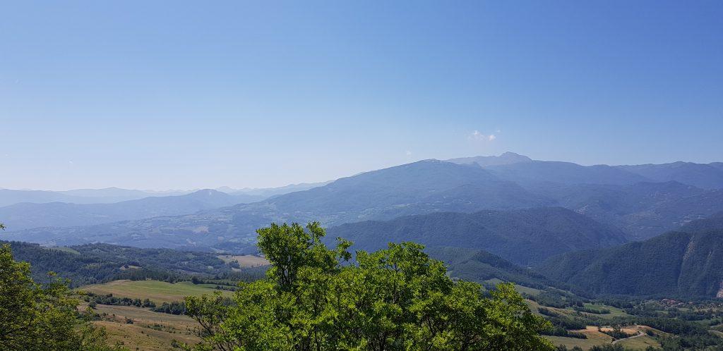 Il Panorama dalla Pietra di Bismantova