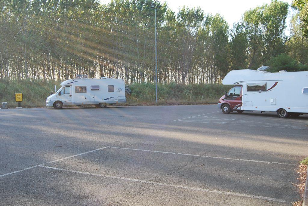 Area Sosta Camper Brescello