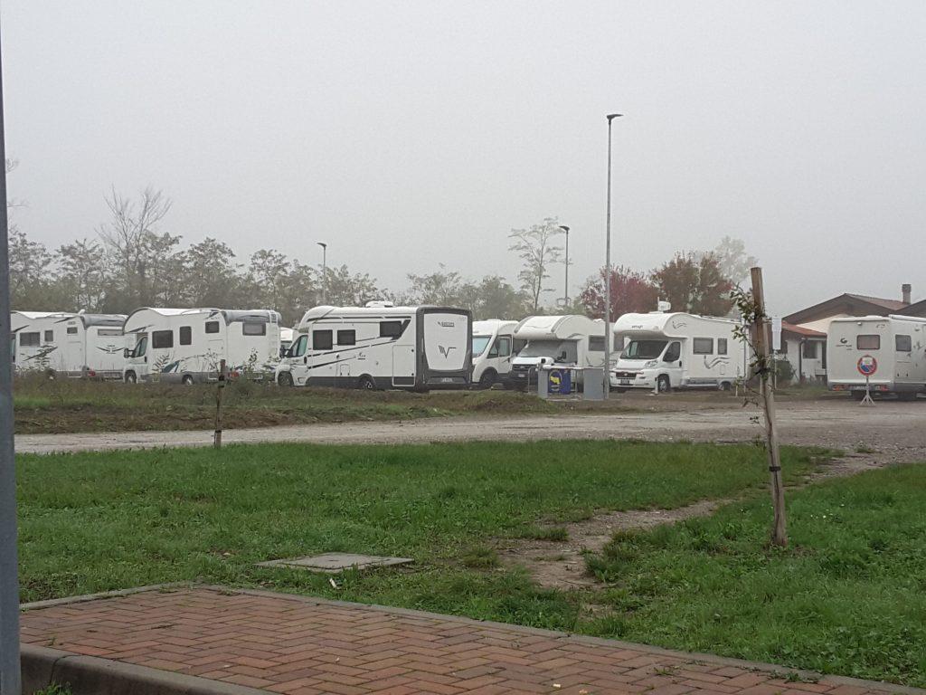 Area sosta Val Nure