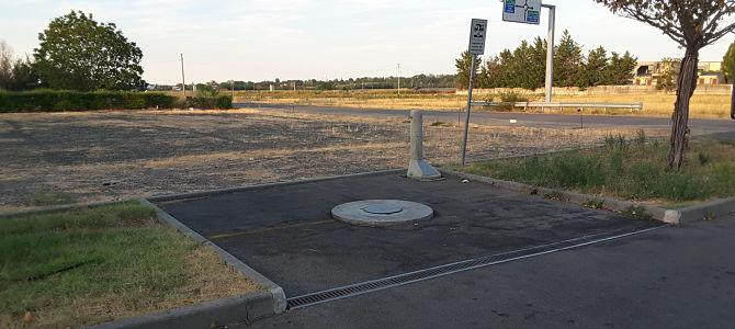 Area sosta camper di Traversetolo