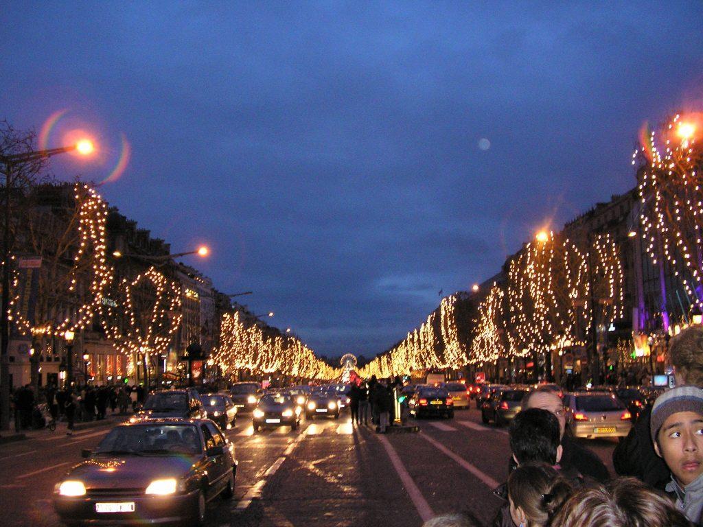 Parigi Champs Elysées