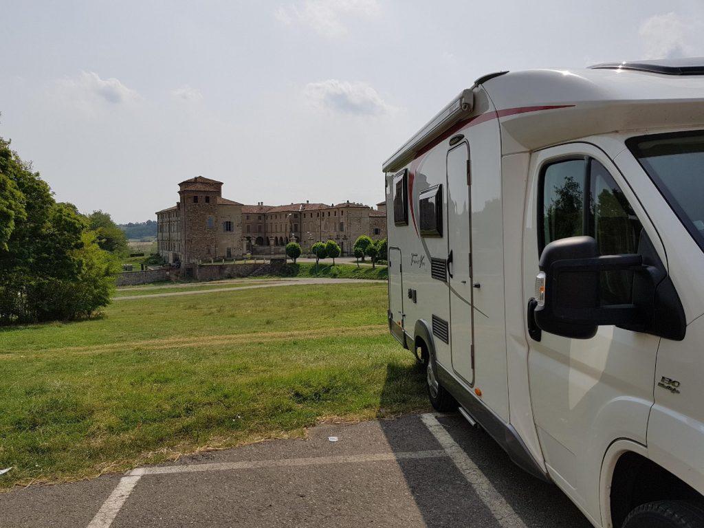 Il camper ad Agazzano