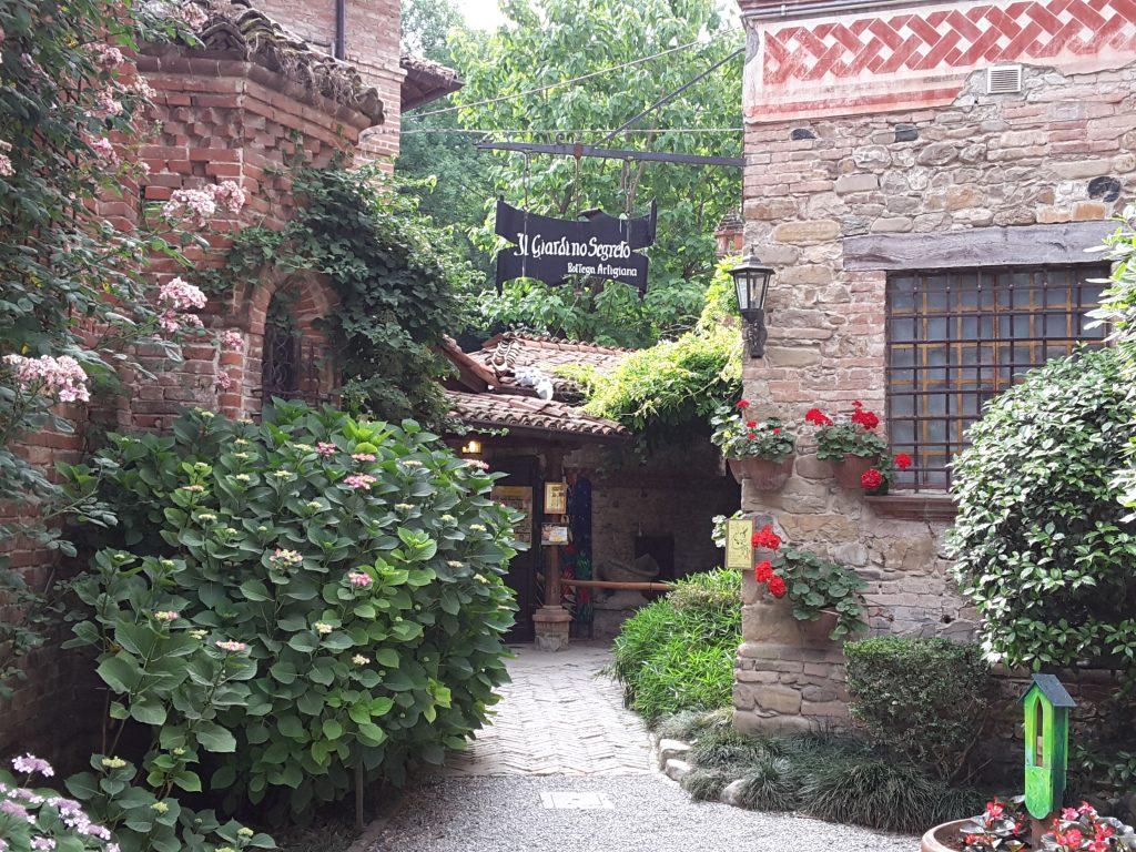 Il giardino Segreto a Grazzano Visconti