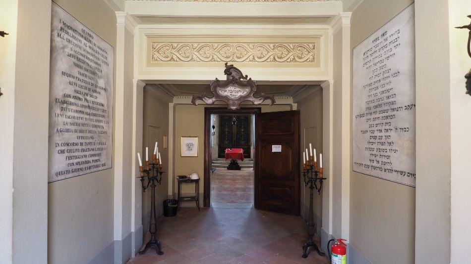 Ingresso Sinagoga Museo Ebraico Fausto Levi Soragna