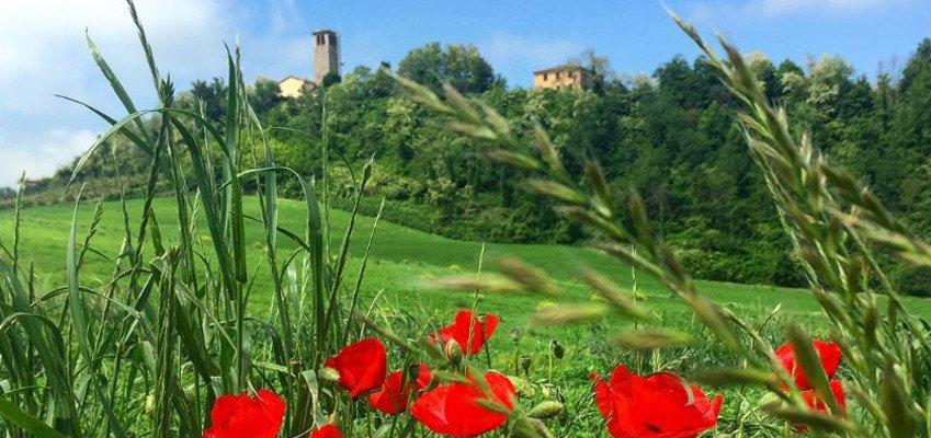 Itinerario alla scoperta delle Valli Piacentine castello rivalta copertina