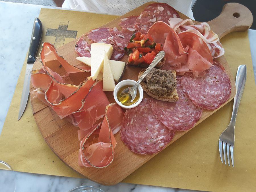 Itinerario in Toscana in camper - Enogastronomia locale