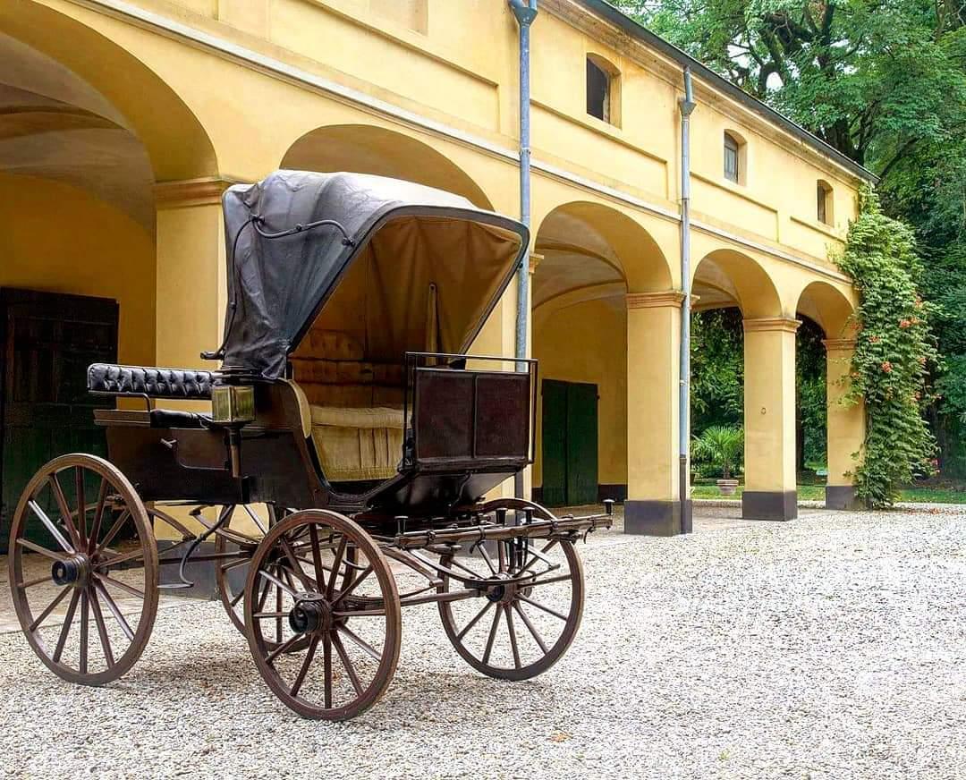 La carrozza di Villa Verdi