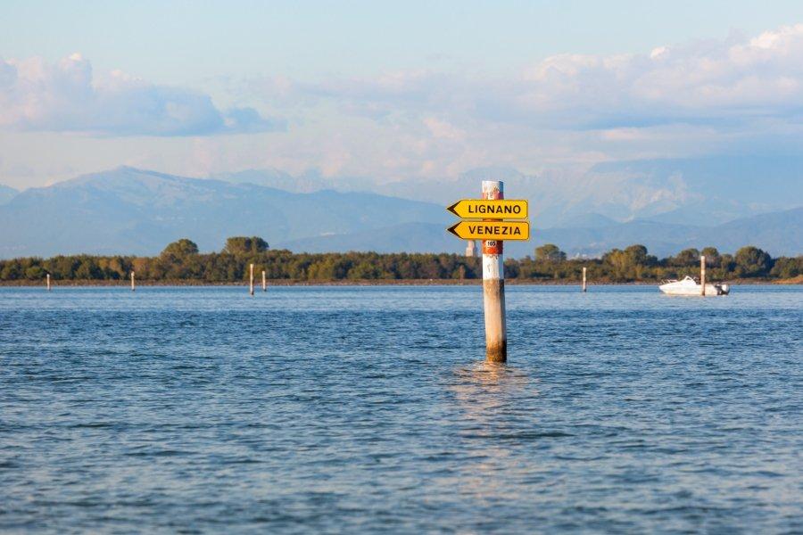 Laguna di Marano le indicazioni