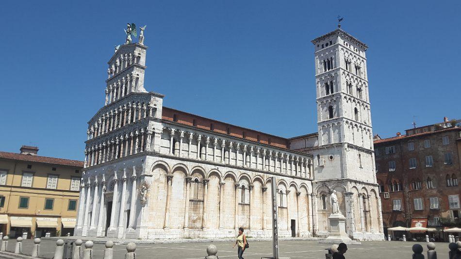 Lucca in camper Chiesa di San Michele in Foro