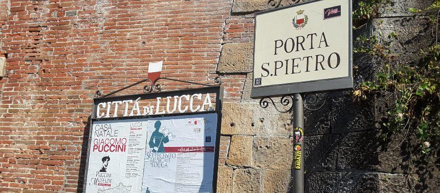 Lucca in Camper - Porta di San Pietro