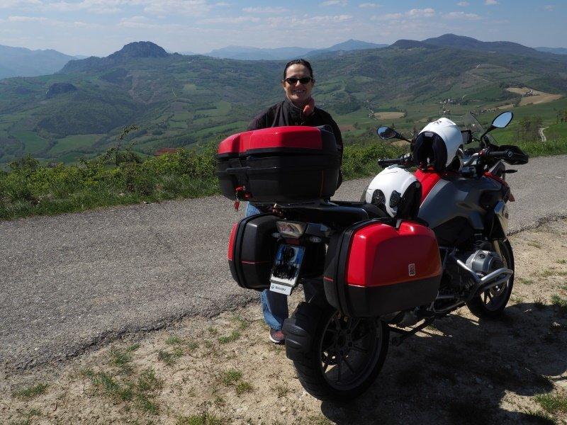 Itinerario in moto alle due pietre piacentine