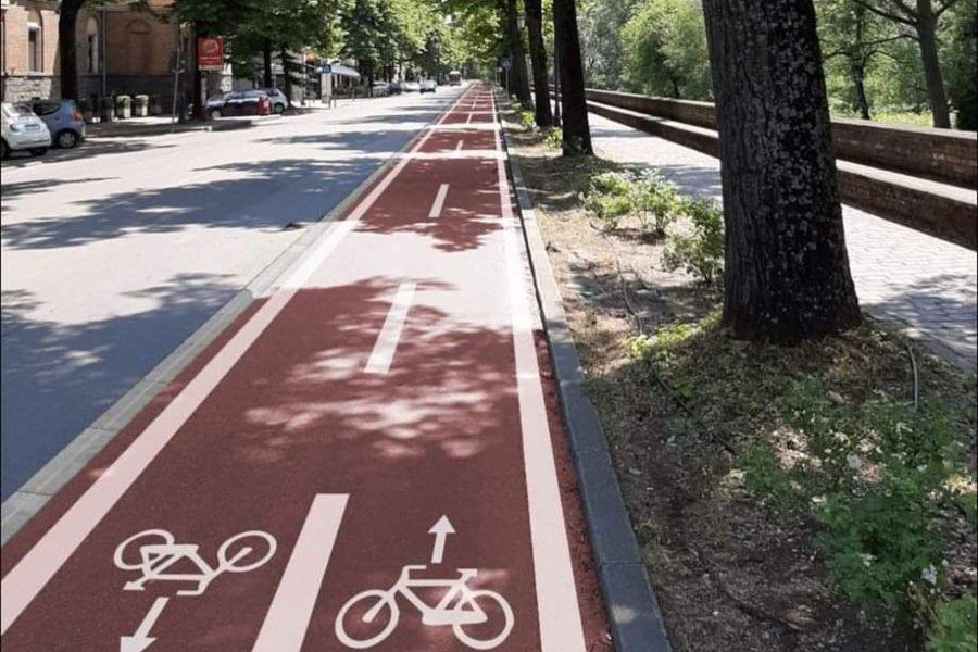 Parma in camper e bicicletta