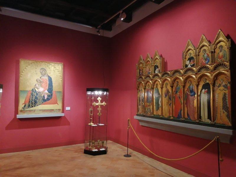 San Severino Marche interni Pinacoteca