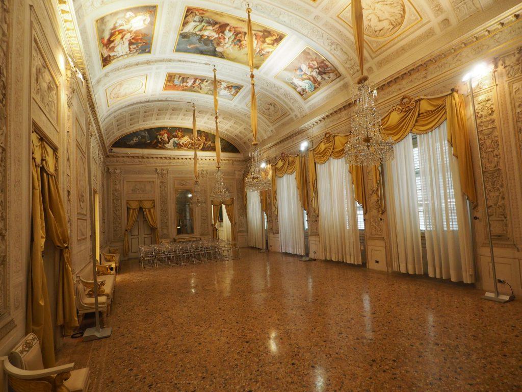 Sala di Compagnia Palazzo Milzetti Faenza