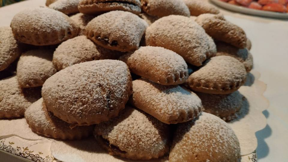 Tortelli dolci di castagne