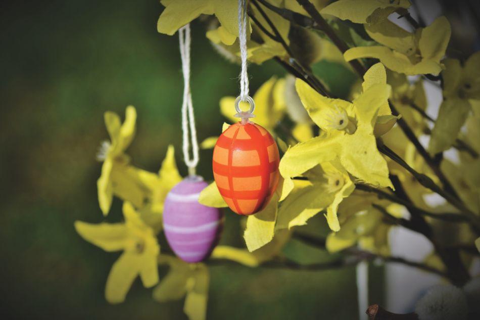 Uova da appendere addobbi di Pasqua