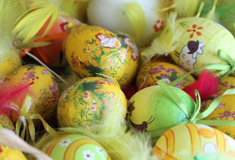 Uova da decorare Addobbi di Pasqua