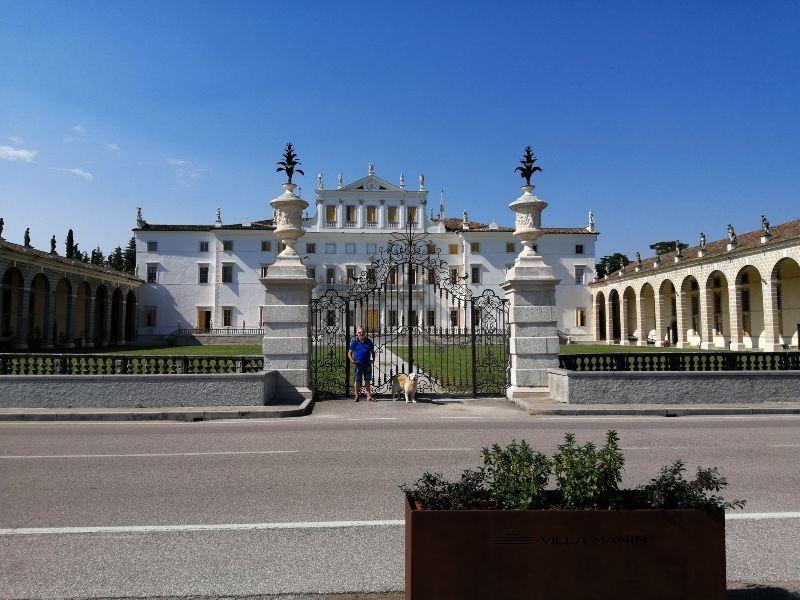 itinerario in Friuli Venezia Giulia Villa Manina