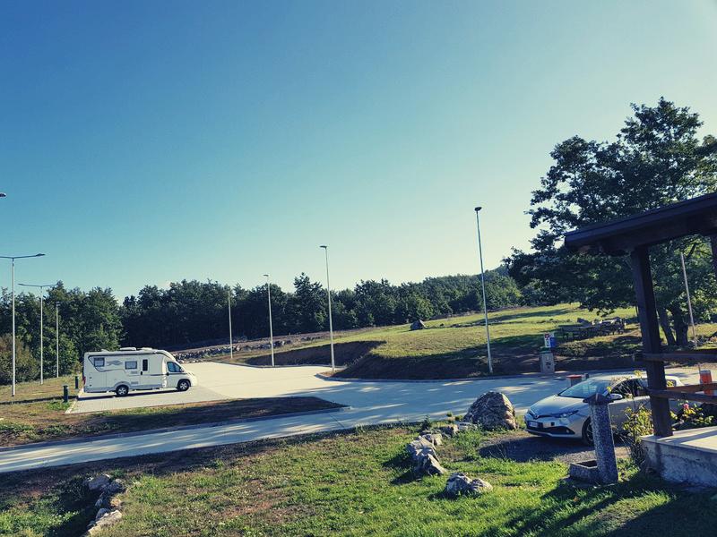 Area Tarolli in camper