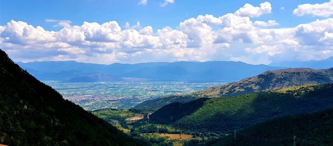 Abruzzo in camper la Valle del Fucino
