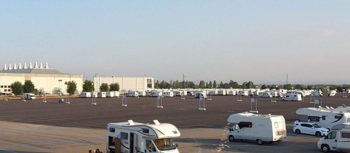 Area camper a Parma Fiere