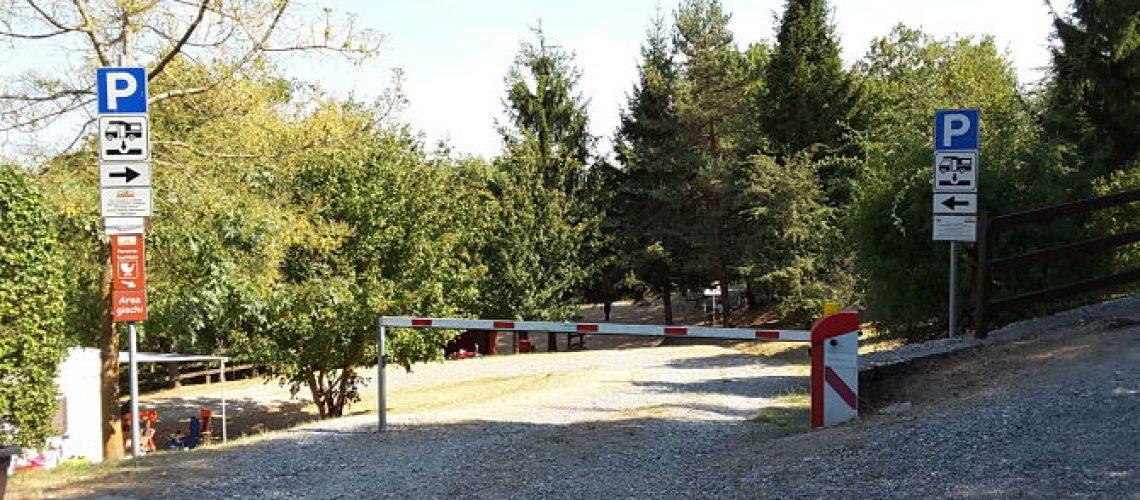 Area di sosta camper di Scurano