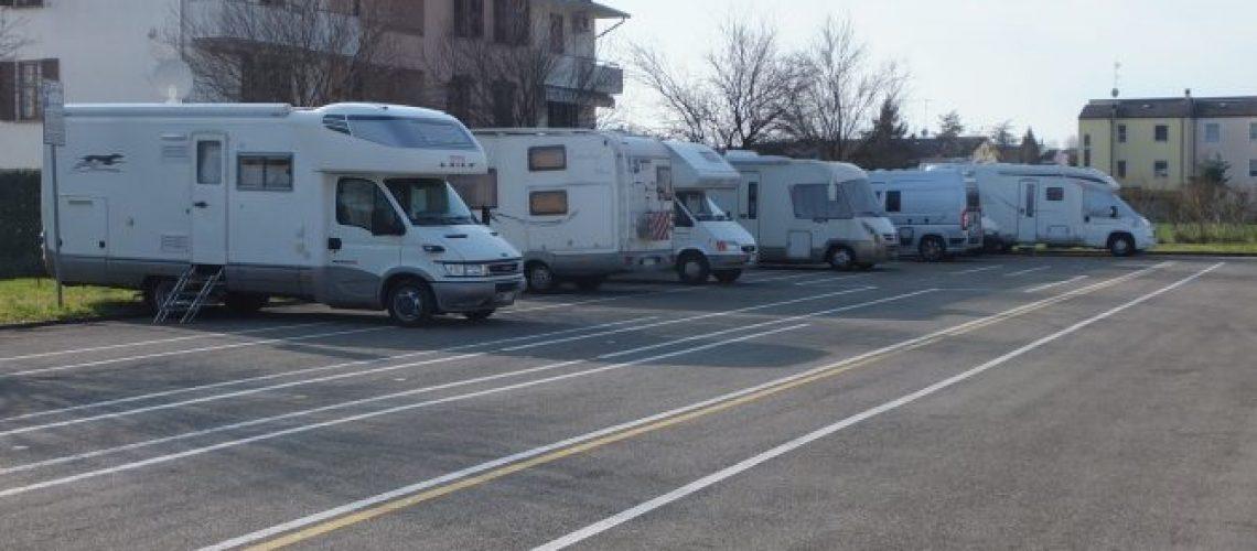Area sosta camper Busseto