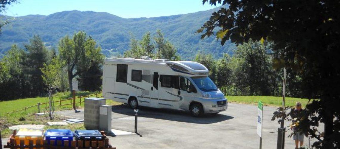 Area sosta camper a Monchio delle Corti