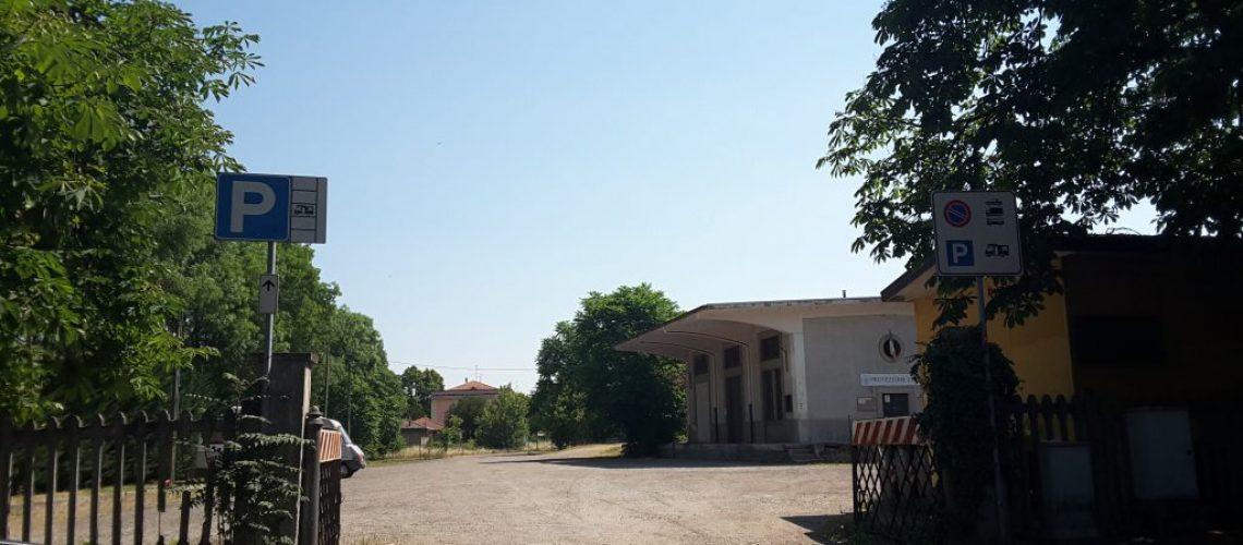 Area sosta camper a Salsomaggiore Terme