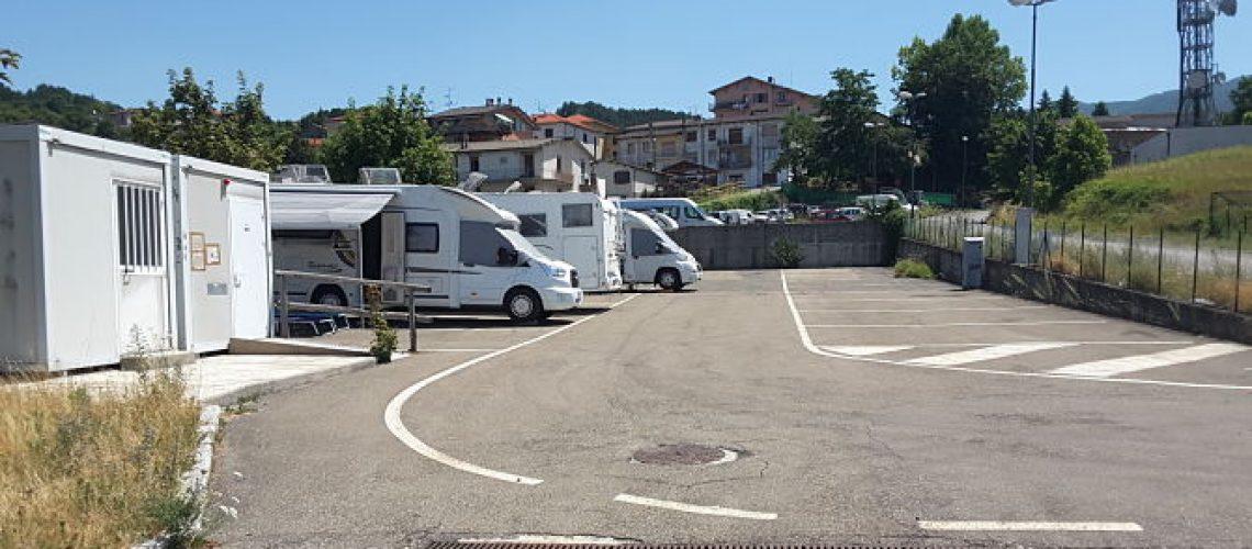 Area sosta camper di Berceto