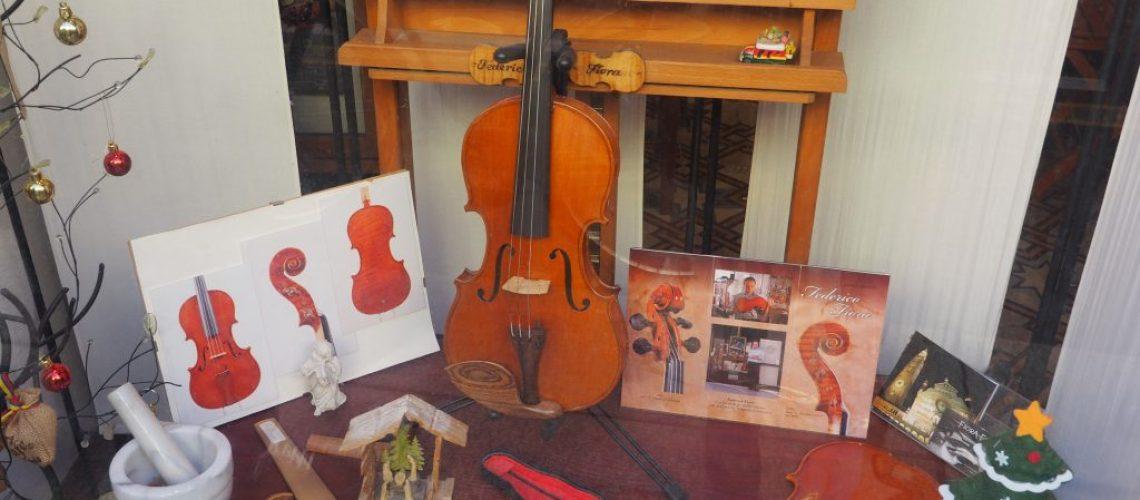 Il violino - degustando in bottega - Cremona