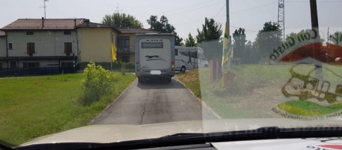 In viaggio con il camper