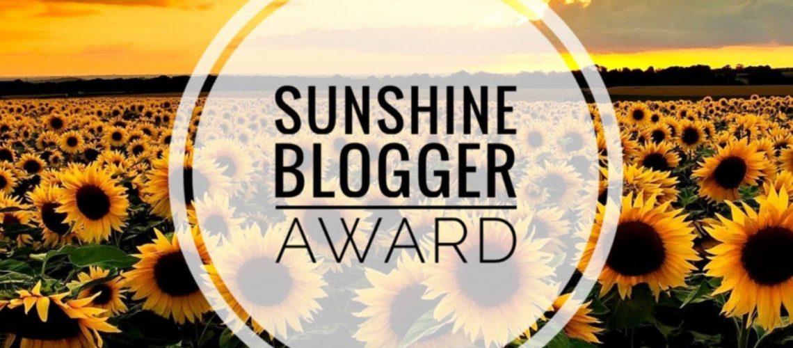 Sunshine Blogger Award 2021