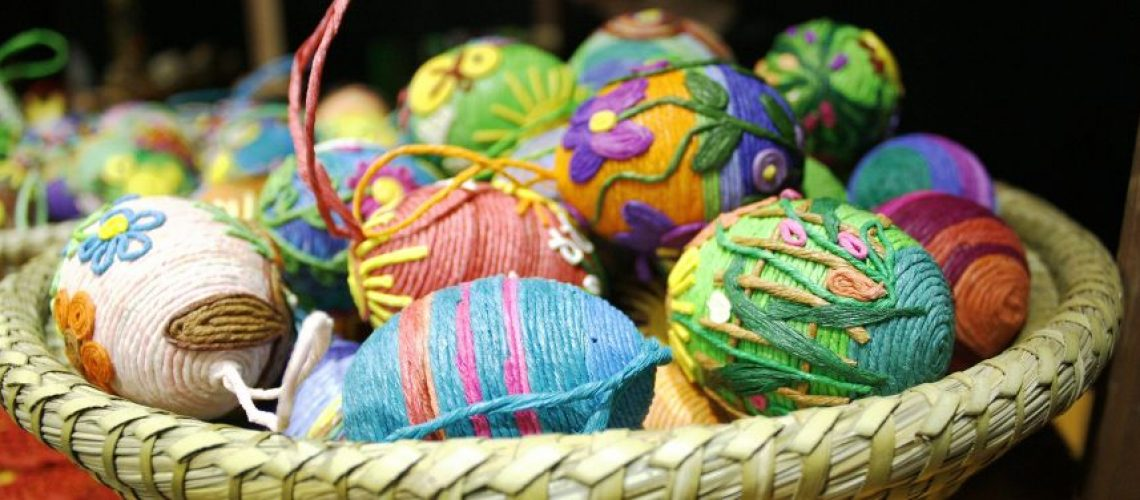Uova decorate Addobbi di Pasqua