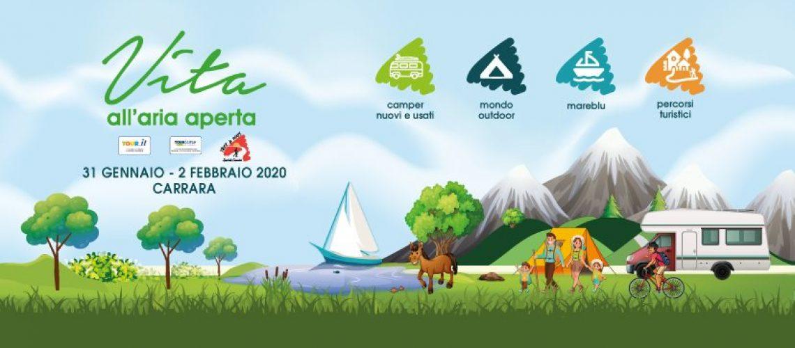 Vita all'aria aperta a Carrara 2020