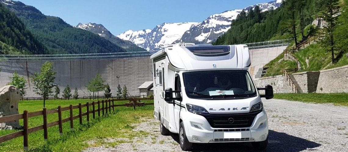 area camper Valgrisanche