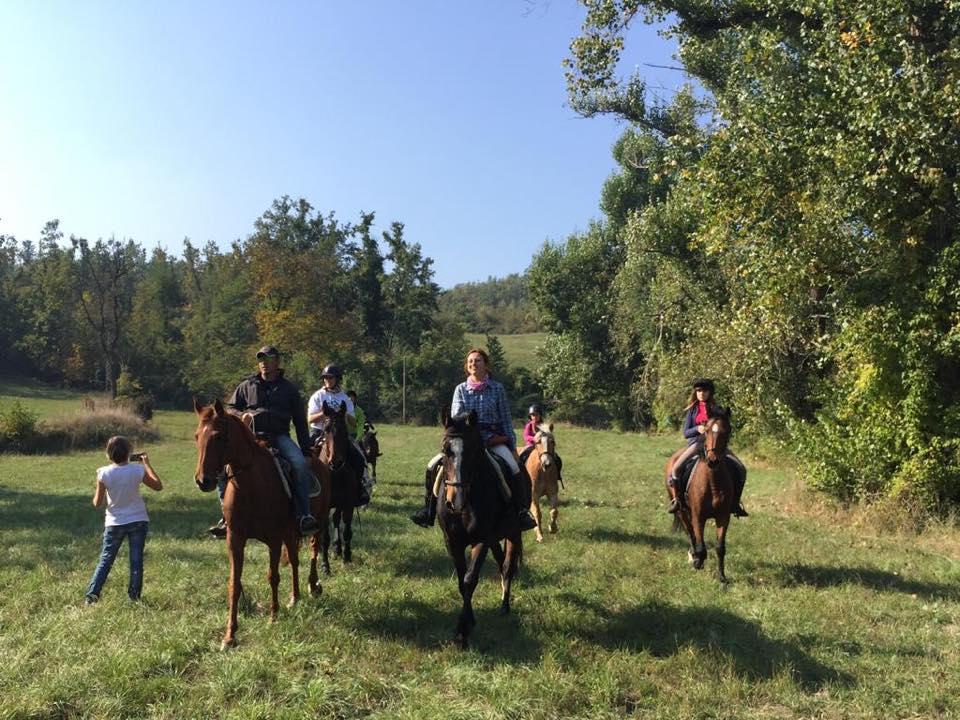 Escursioni a Cavallo in Appennino