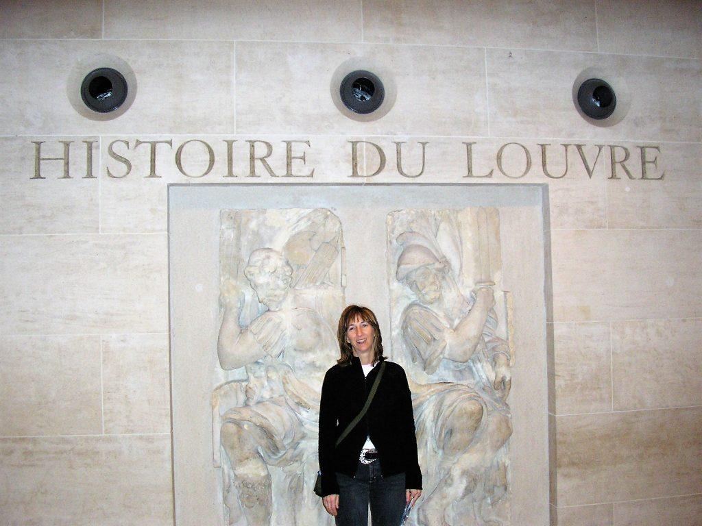 Interno del Louvre