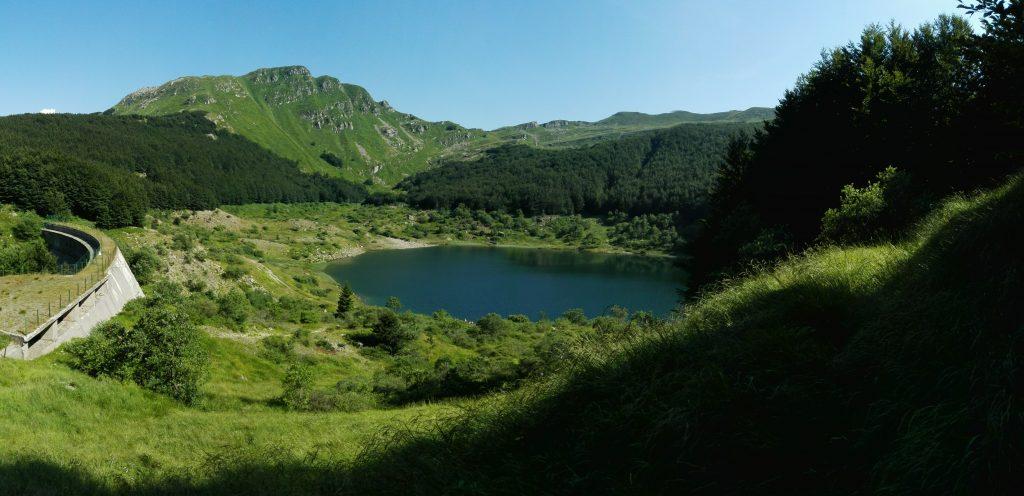 Lago Verde nel Parco dei 100 Laghi
