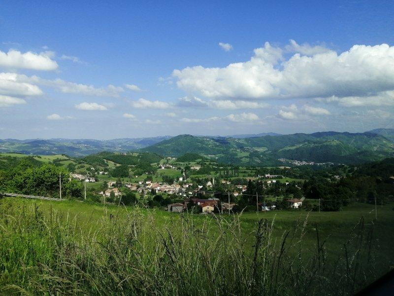 Da Parma al Monte Fuso in camper