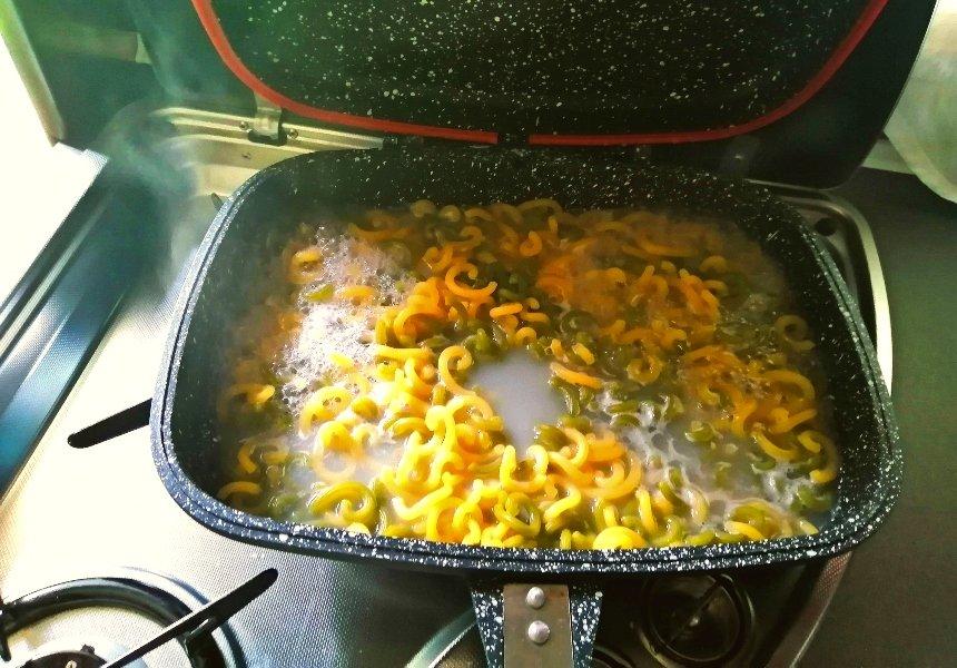 cucinare in camper o cucina da camper