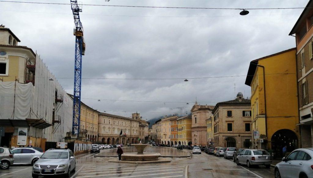 San Severino Marche Piazza del Popolo