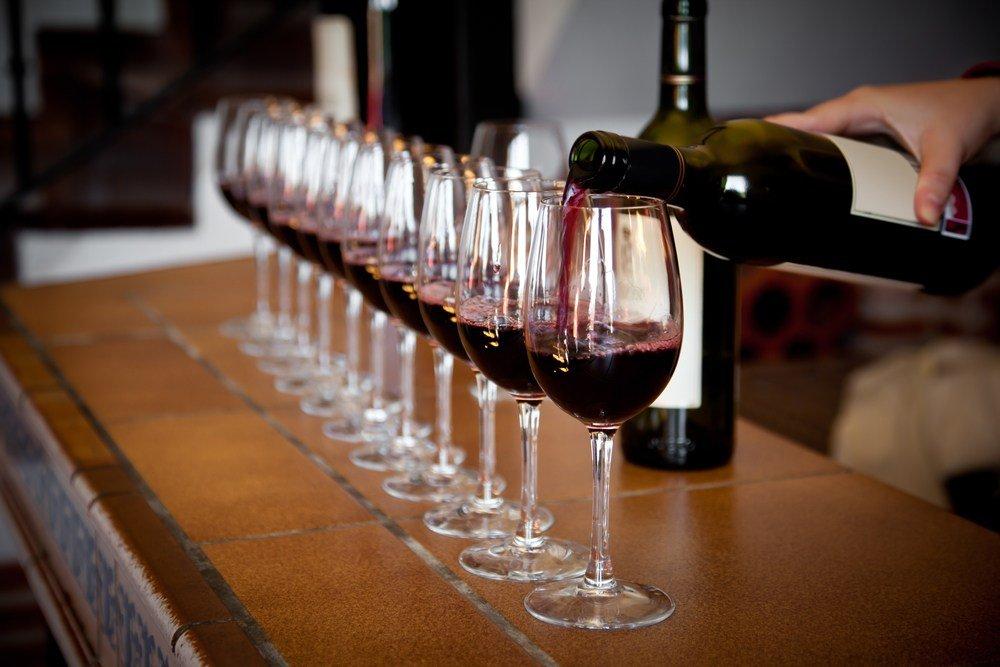 desgustazione di vini